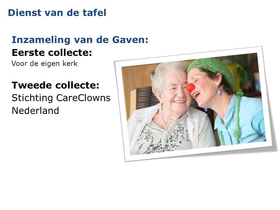 Inzameling van de Gaven: Eerste collecte: