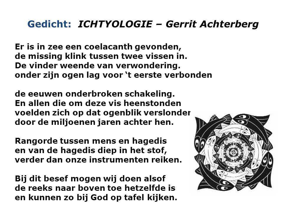 Gedicht: ICHTYOLOGIE – Gerrit Achterberg