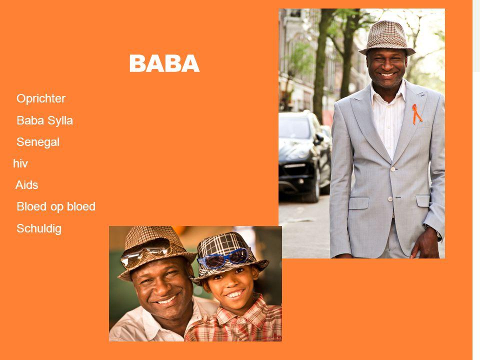 BABA Oprichter Baba Sylla Senegal hiv Aids Bloed op bloed Schuldig