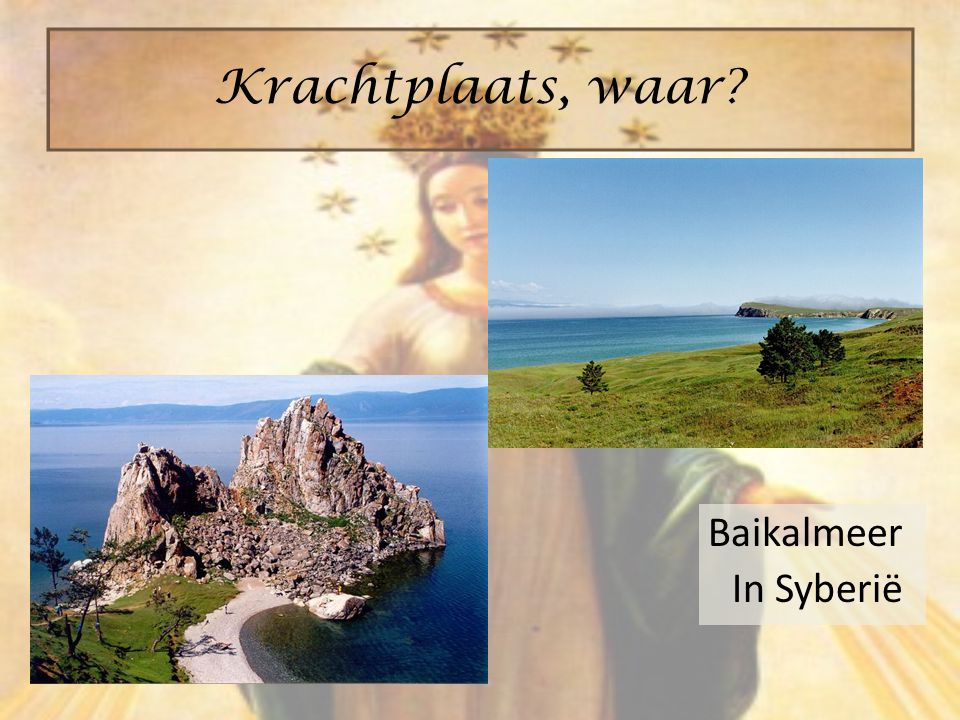 Krachtplaats, waar Baikalmeer In Syberië