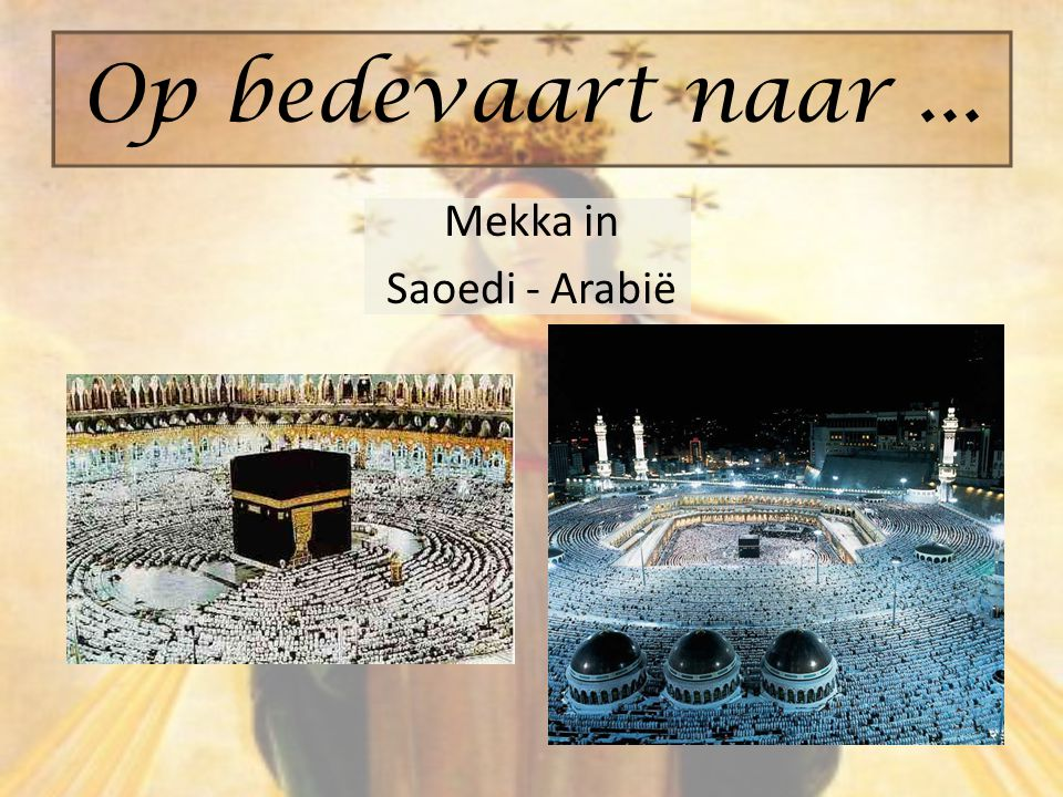 Mekka in Saoedi - Arabië