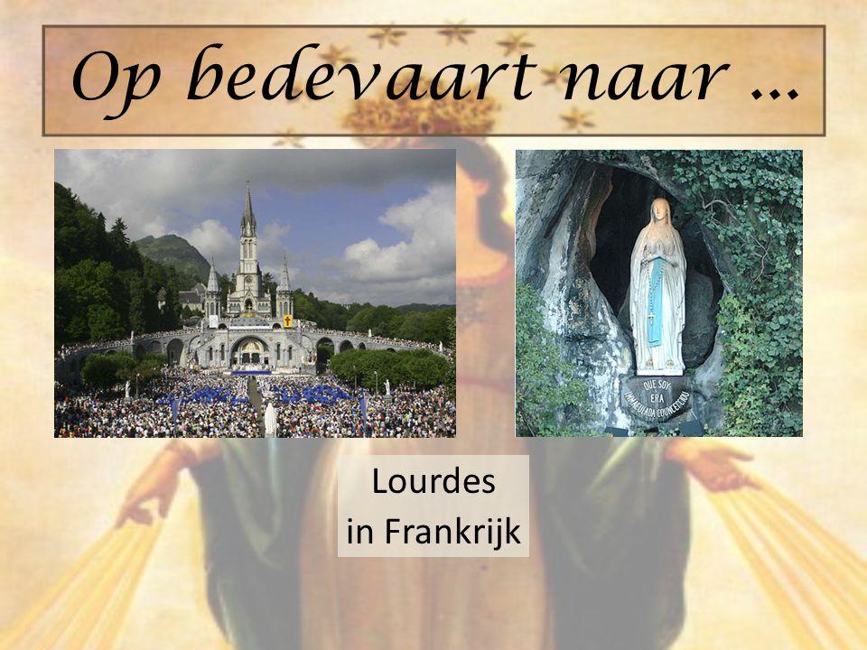 Op bedevaart naar ... Lourdes in Frankrijk