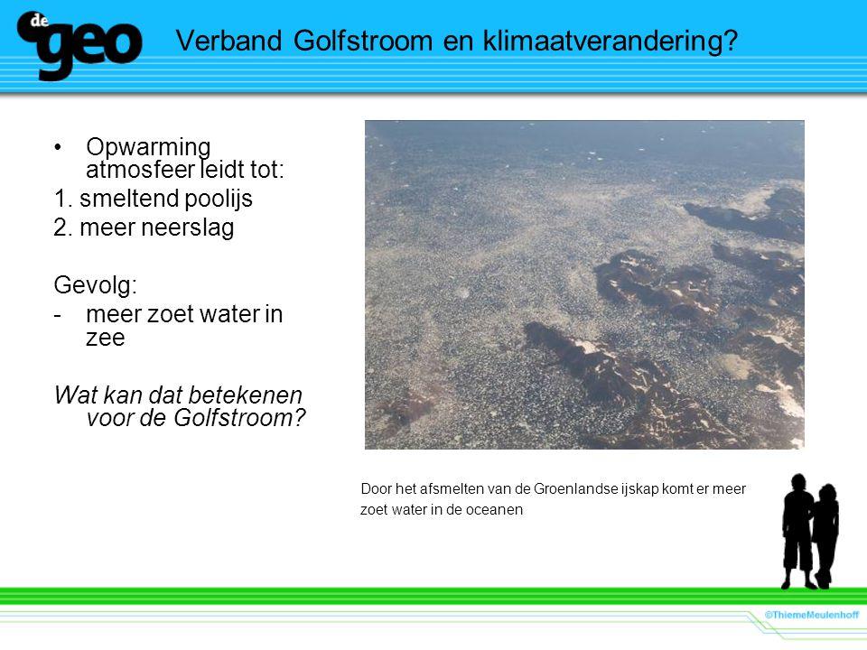 Verband Golfstroom en klimaatverandering