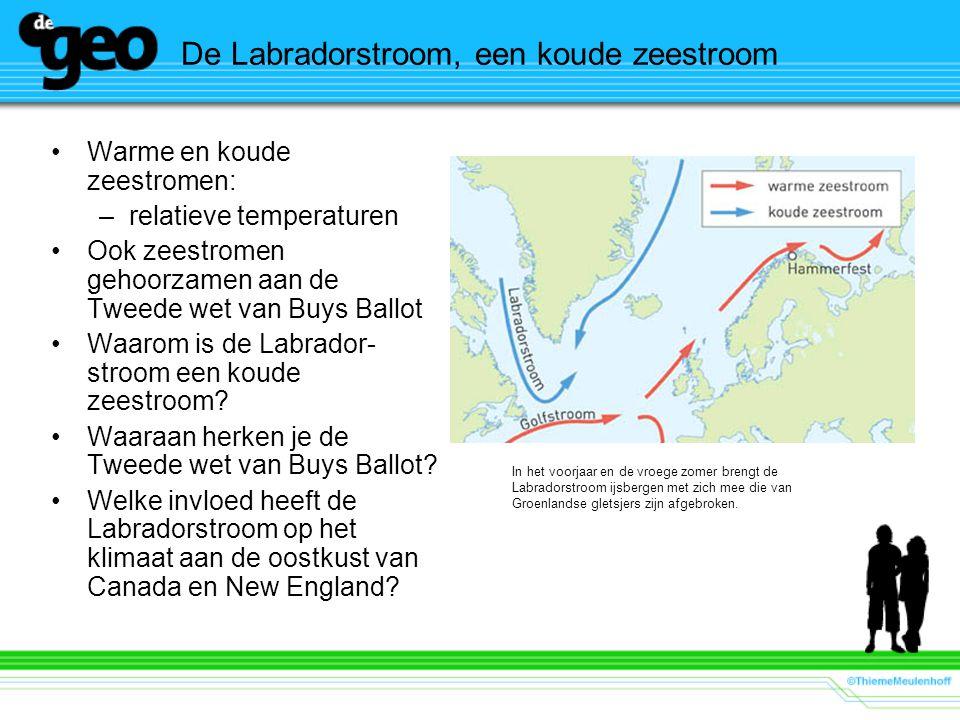 De Labradorstroom, een koude zeestroom