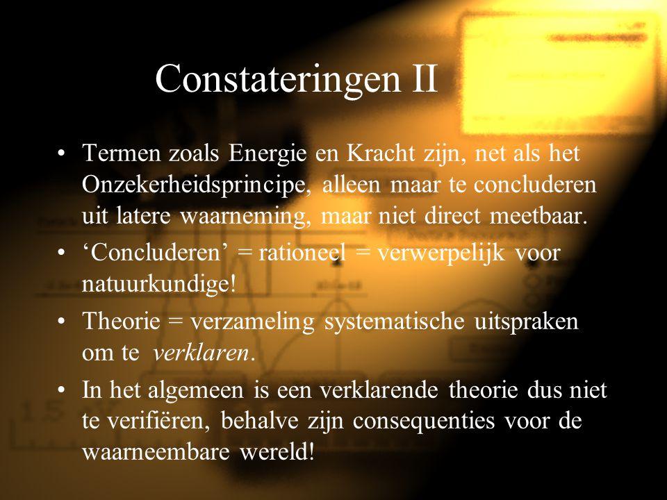 Constateringen II