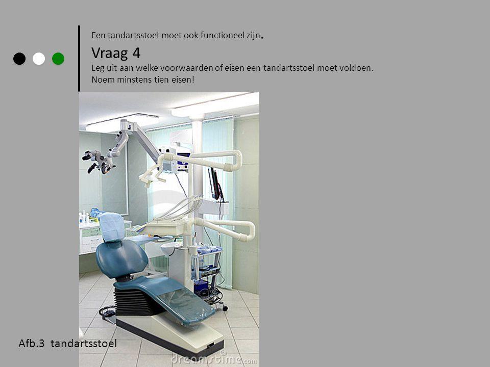 Vraag 4 Afb.3 tandartsstoel
