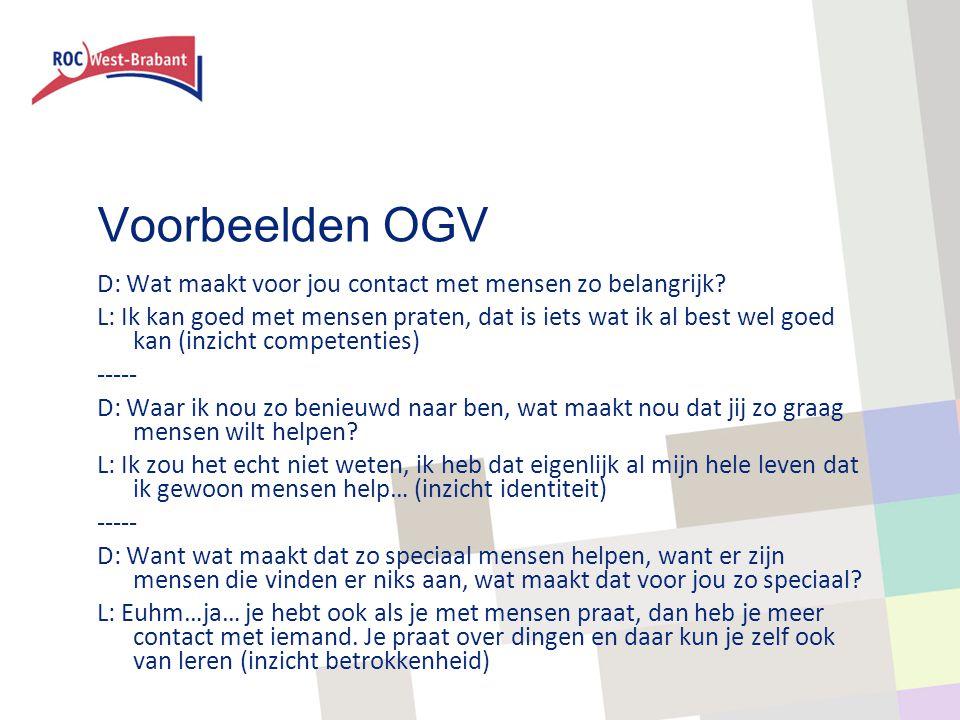 Voorbeelden OGV