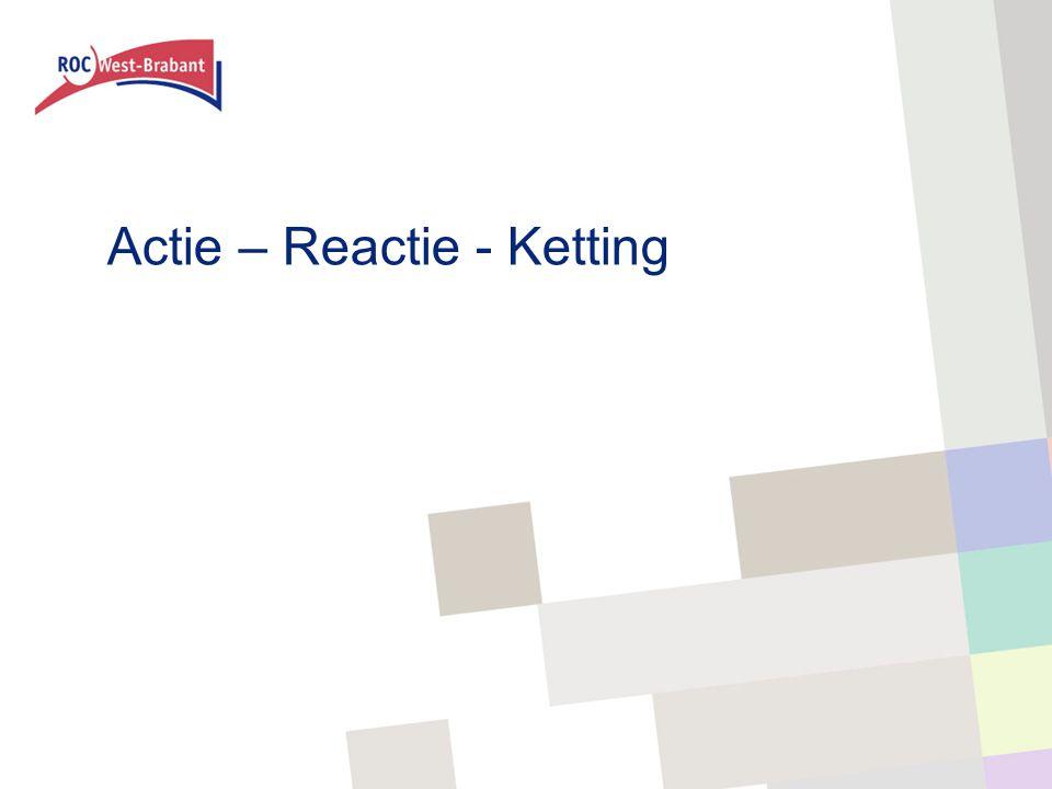 Actie – Reactie - Ketting