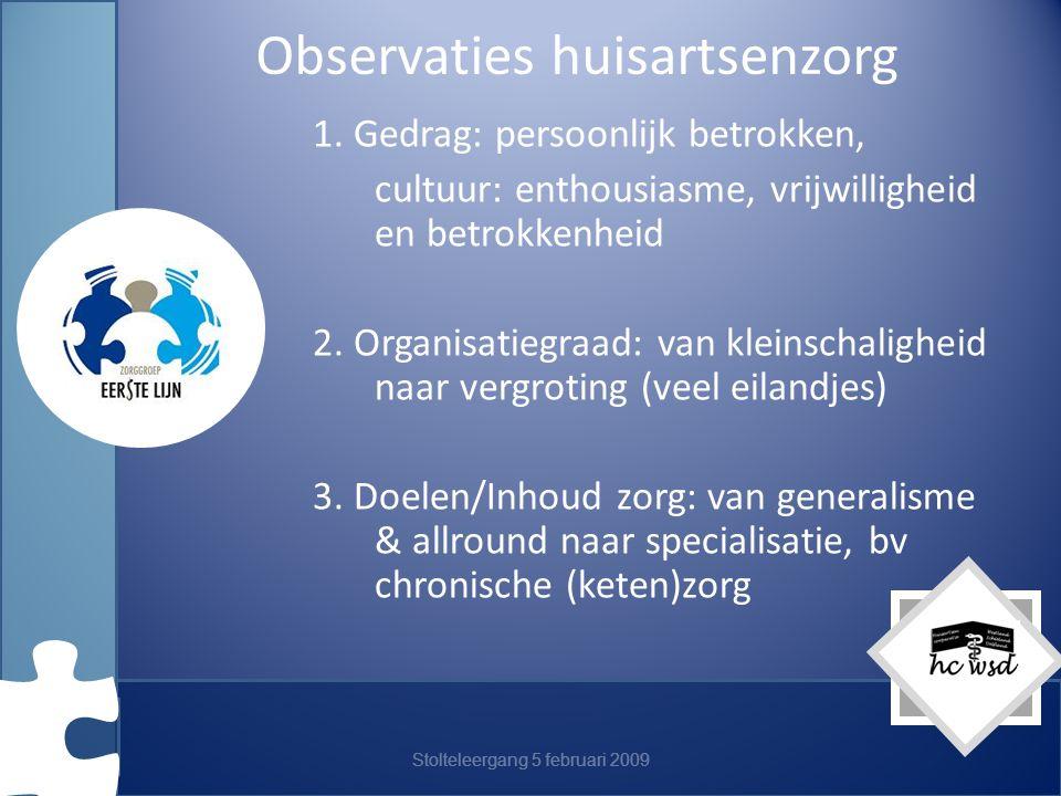 Observaties huisartsenzorg