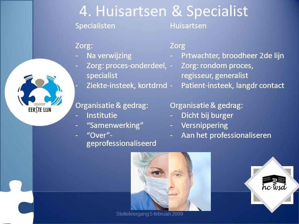 4. Huisartsen & Specialist