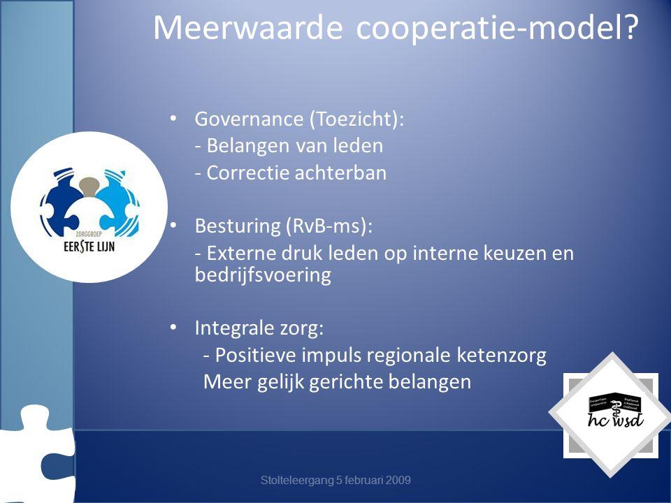Meerwaarde cooperatie-model