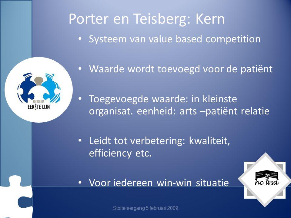 Porter en Teisberg: Kern