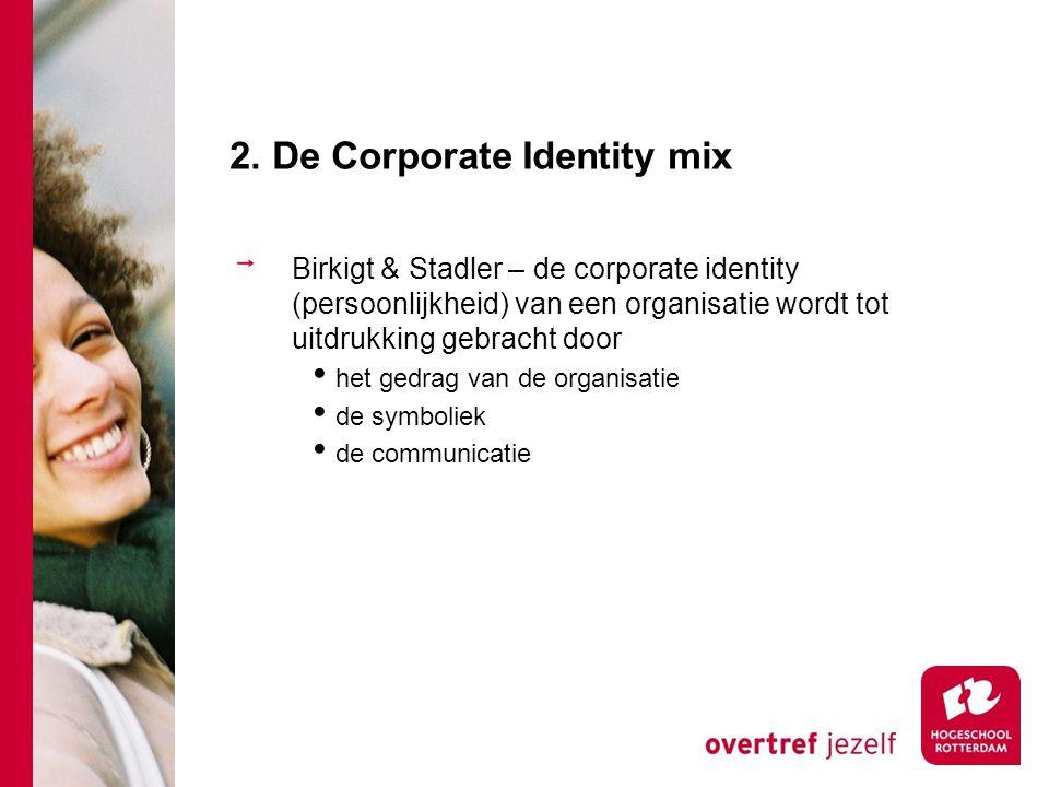 2. De Corporate Identity mix