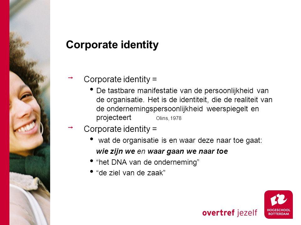 Corporate identity Corporate identity =