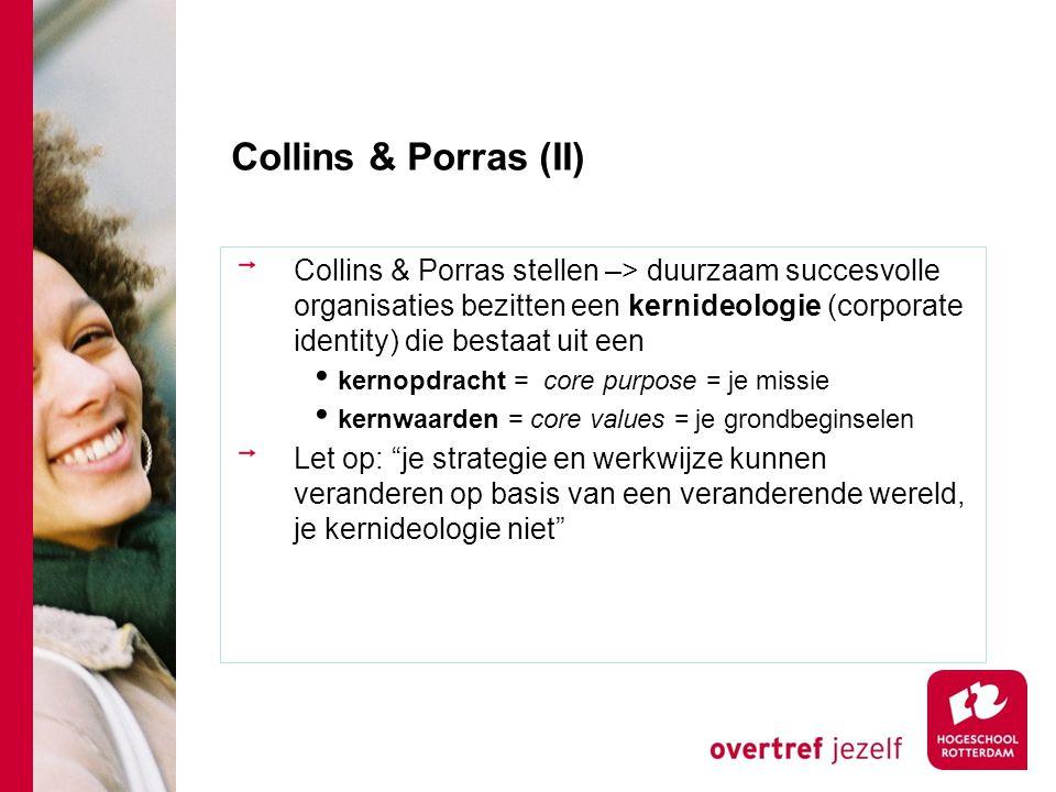 Collins & Porras (II)