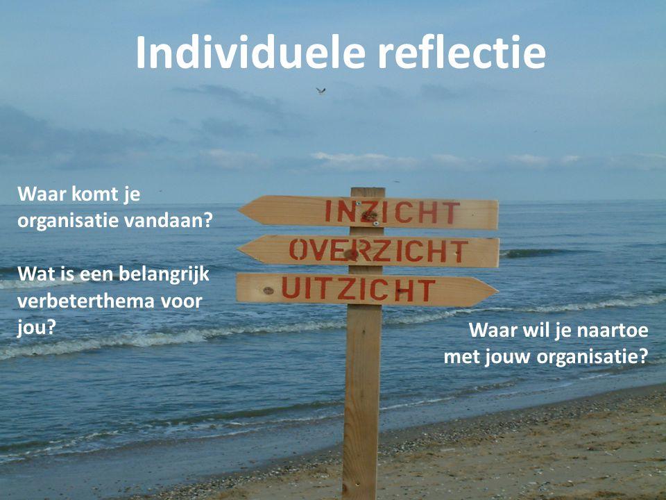 Individuele reflectie