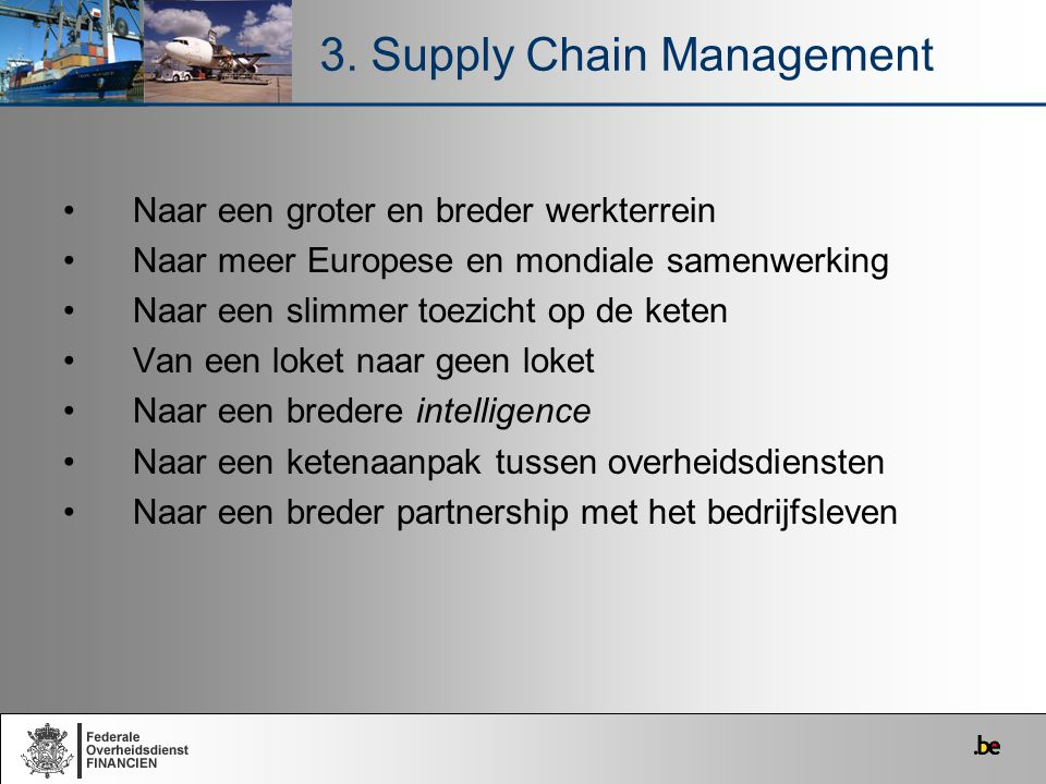 3. Supply Chain Management