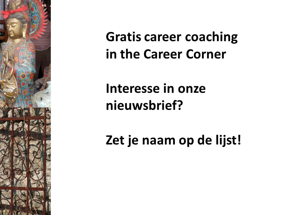 Gratis career coaching