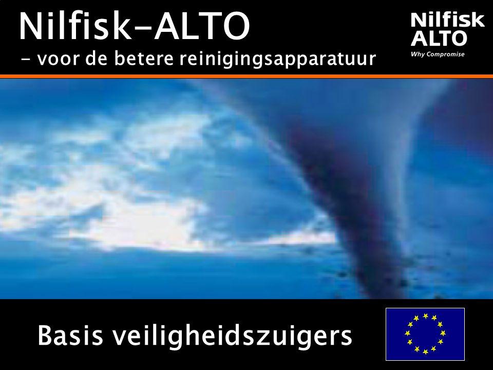 Nilfisk-ALTO Basis veiligheidszuigers