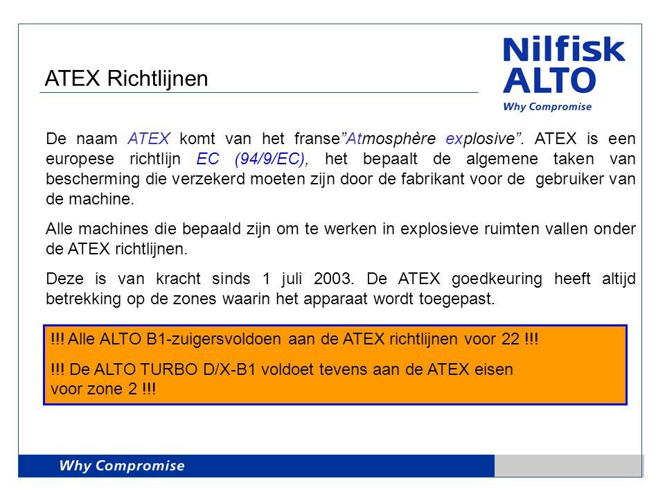 ATEX Richtlijnen