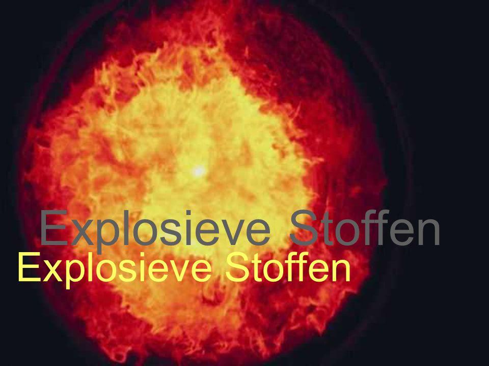 Explosive dust Explosieve Stoffen Explosieve Stoffen