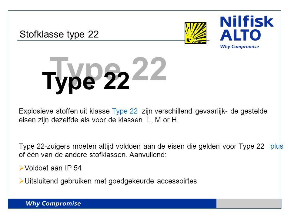 Stofklasse type 22 Type 22.
