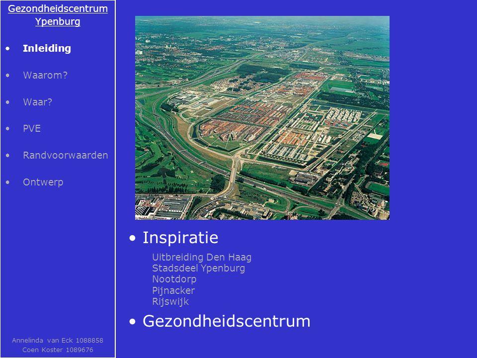 Inspiratie Gezondheidscentrum Gezondheidscentrum Ypenburg Inleiding