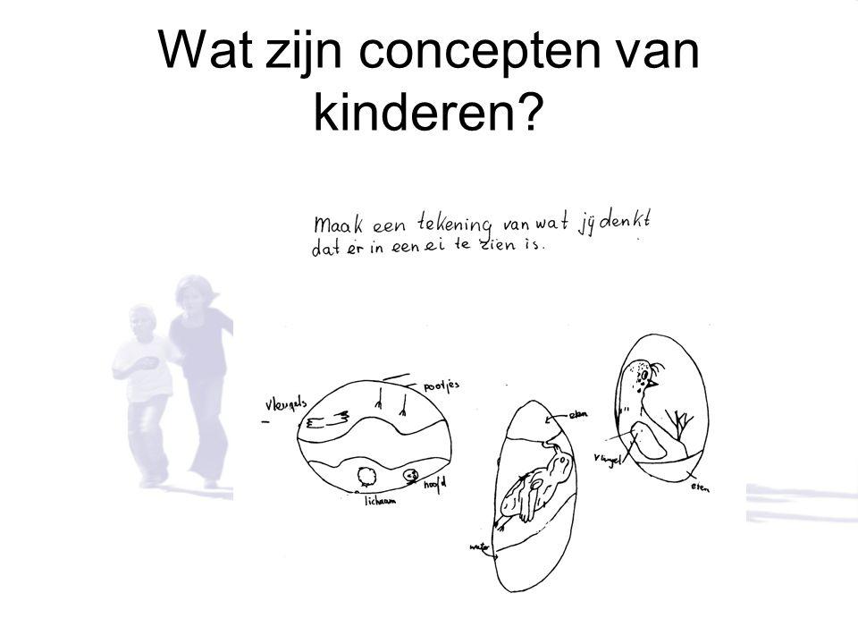 Wat zijn concepten van kinderen