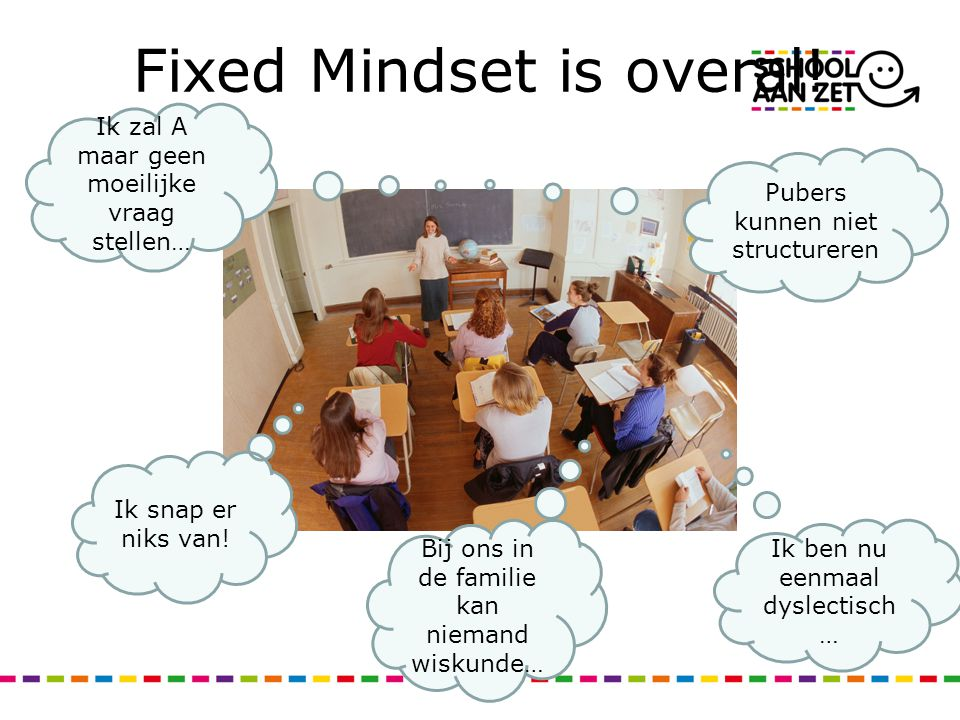 Fixed Mindset is overal!