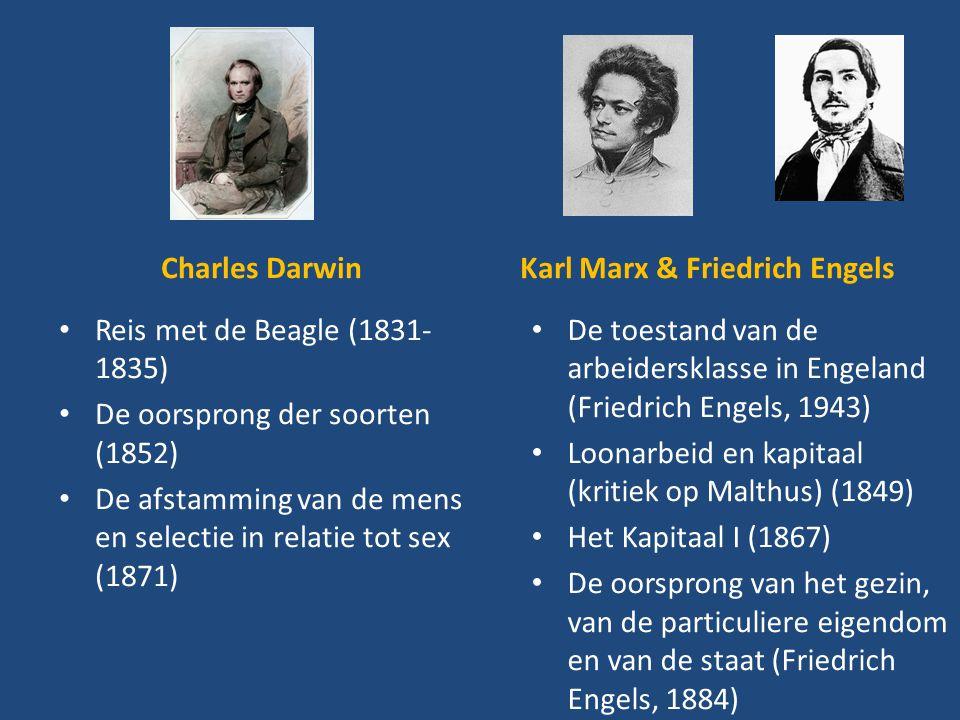 Karl Marx & Friedrich Engels