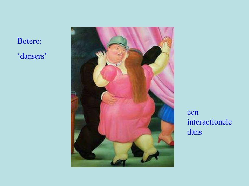 Botero: 'dansers' een interactionele dans