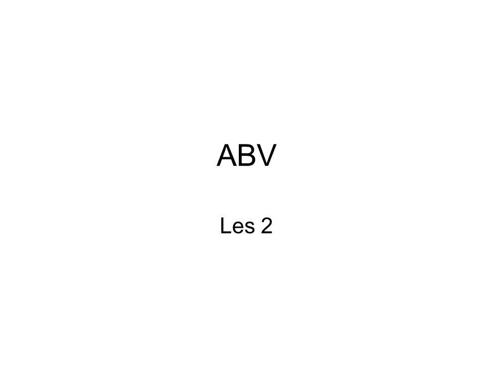 ABV Les 2