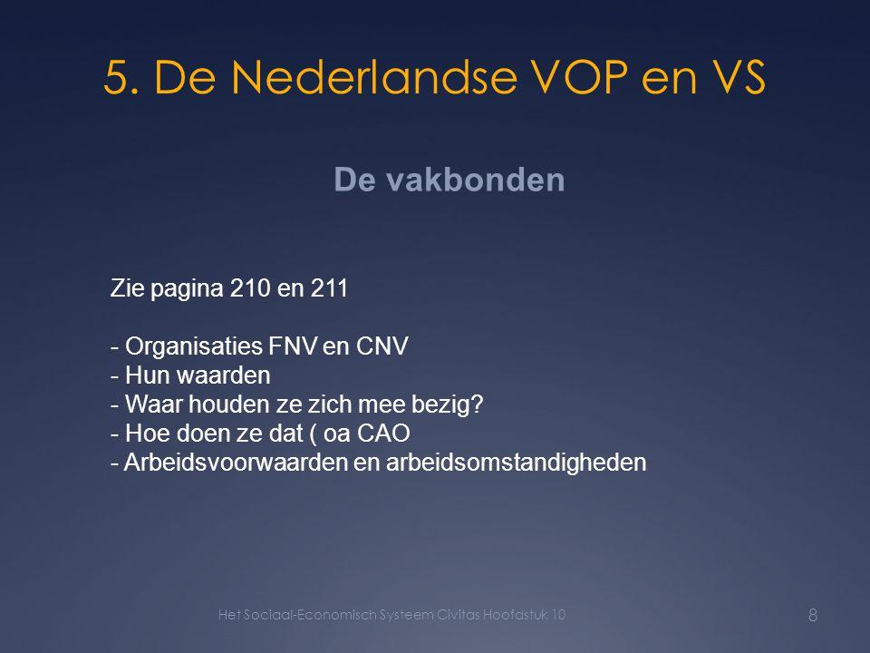 5. De Nederlandse VOP en VS