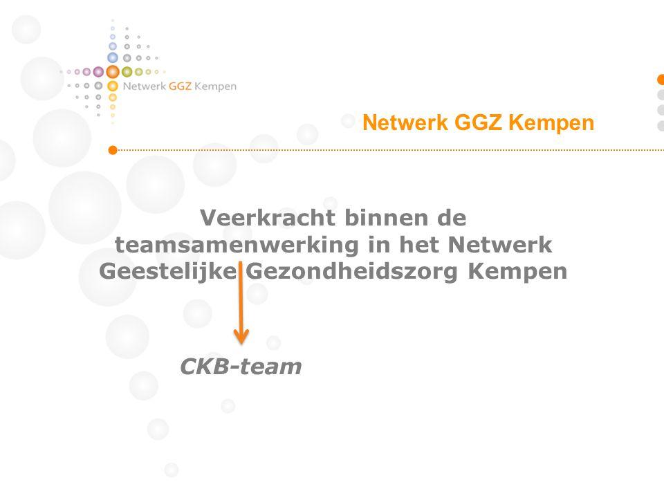 Netwerk GGZ Kempen Veerkracht binnen de teamsamenwerking in het Netwerk Geestelijke Gezondheidszorg Kempen.