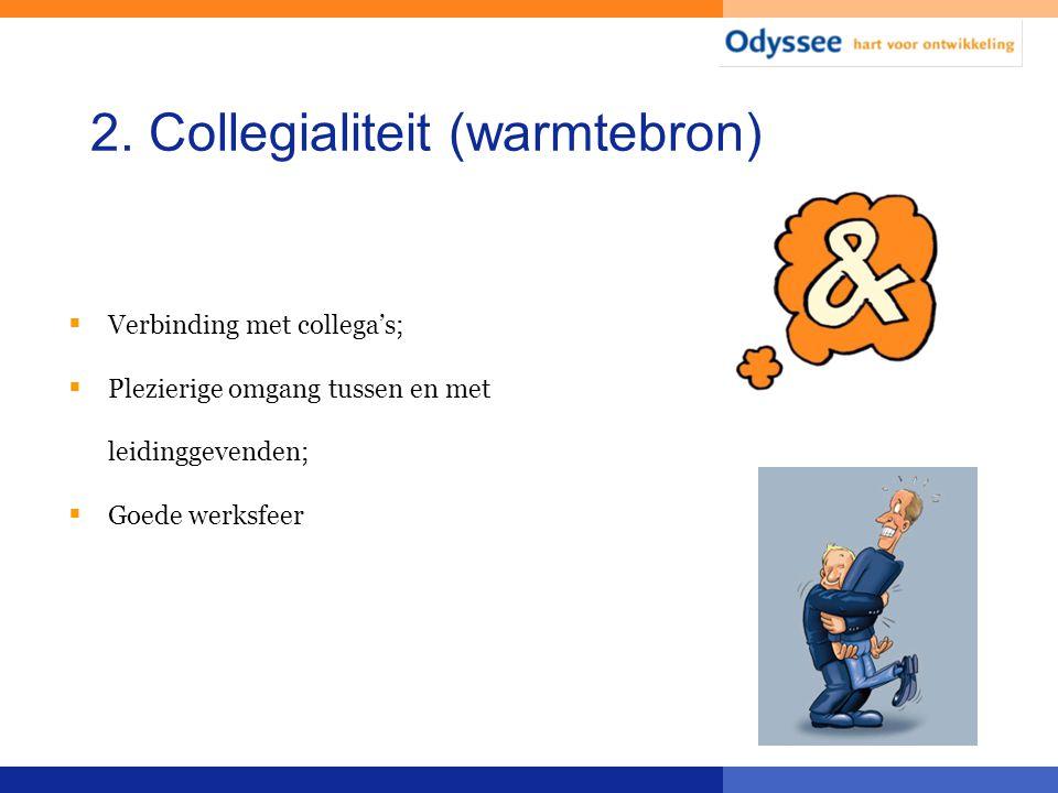 2. Collegialiteit (warmtebron)