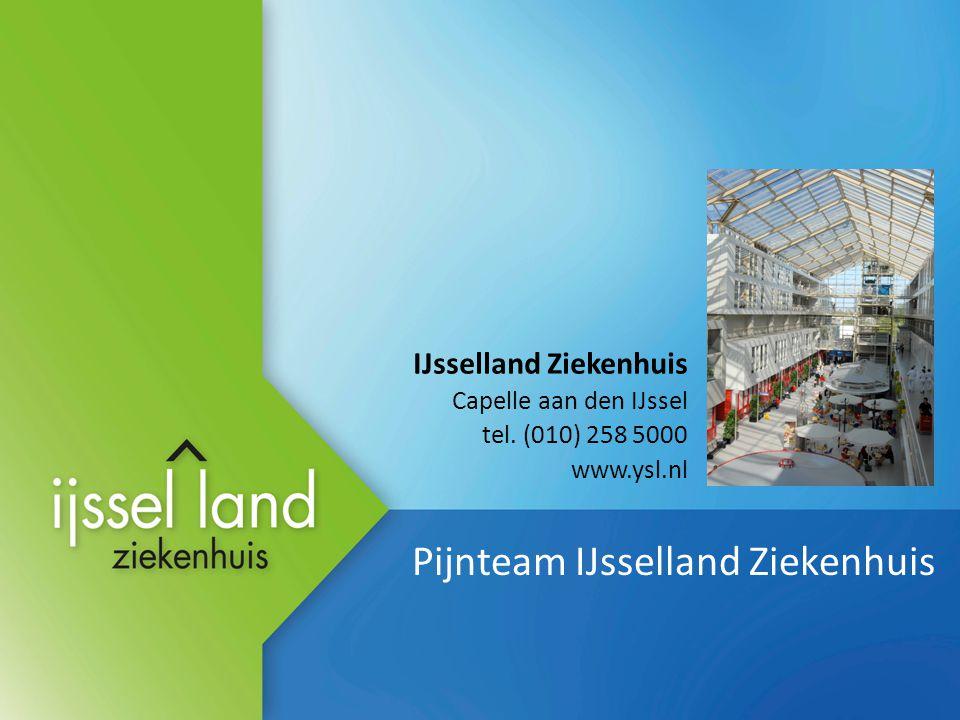 Pijnteam IJsselland Ziekenhuis