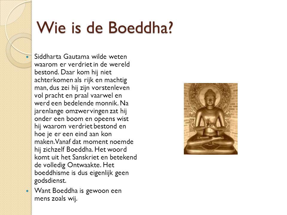 Wie is de Boeddha