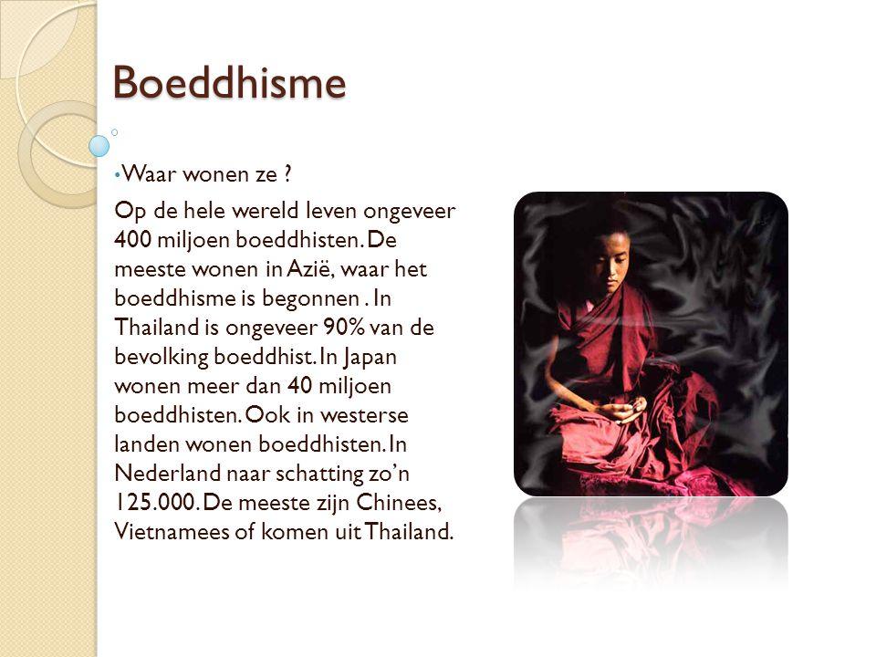Boeddhisme Waar wonen ze