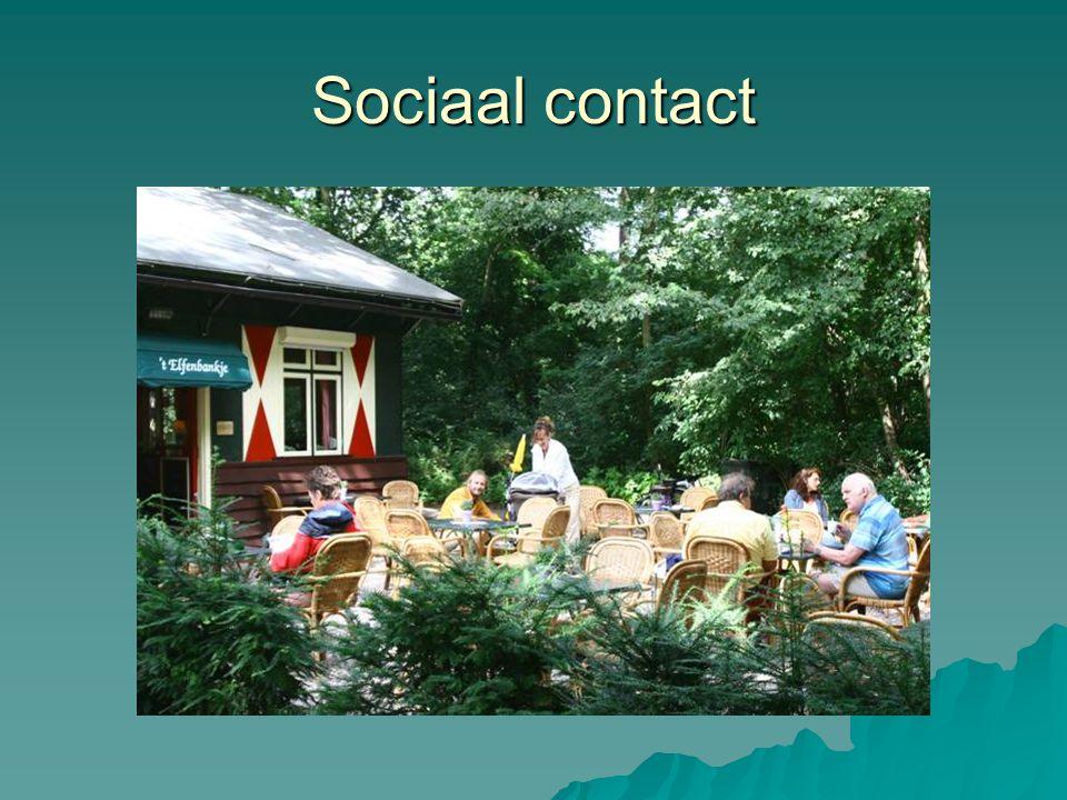 Sociaal contact haarlemmerhout