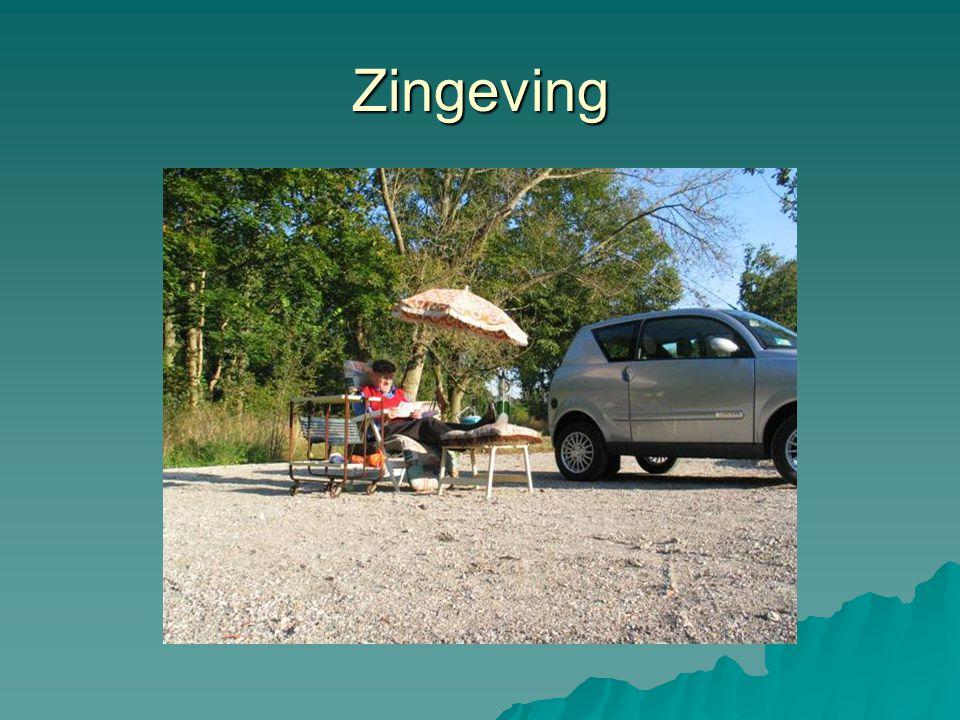 Zingeving Parkeerplaats Bleek en Berg, Bloemendaal