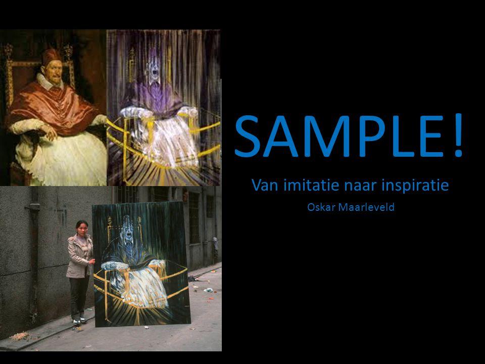 SAMPLE! Van imitatie naar inspiratie
