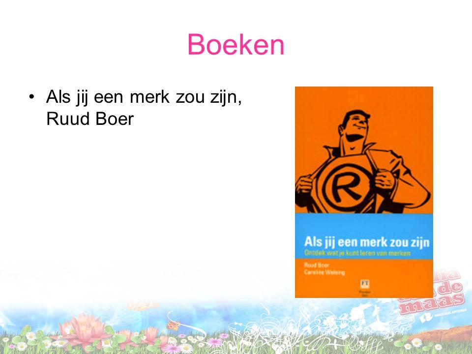 Boeken Als jij een merk zou zijn, Ruud Boer