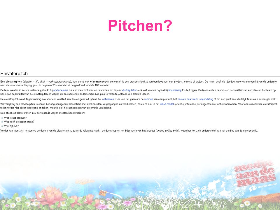 Pitchen