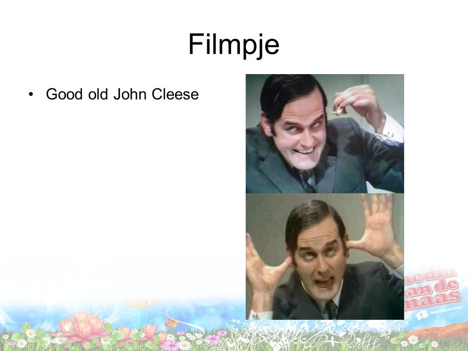 Filmpje Good old John Cleese