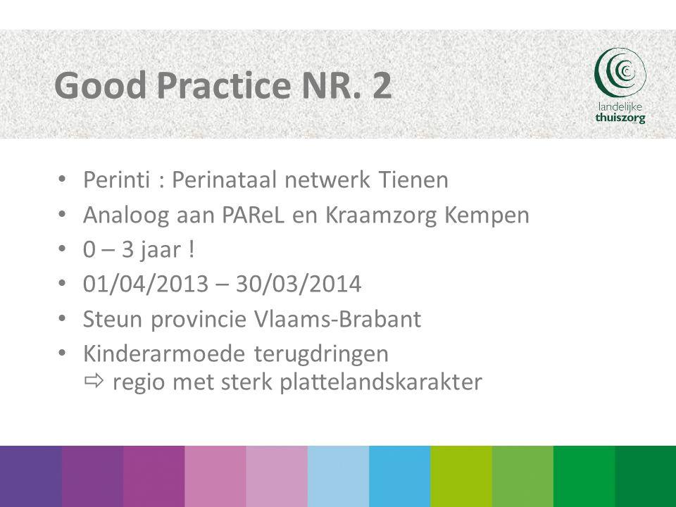 Good Practice NR. 2 Perinti : Perinataal netwerk Tienen
