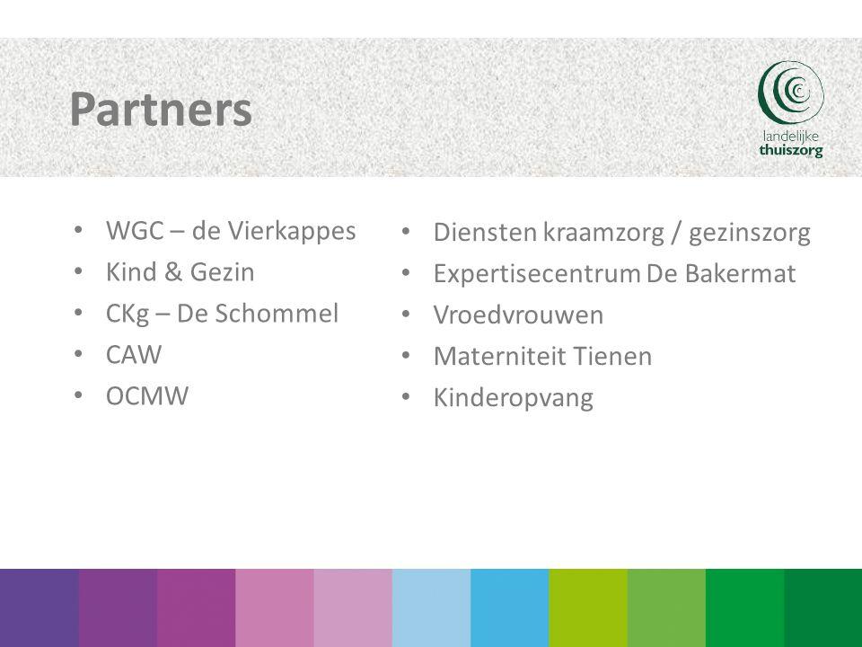 Partners WGC – de Vierkappes Diensten kraamzorg / gezinszorg