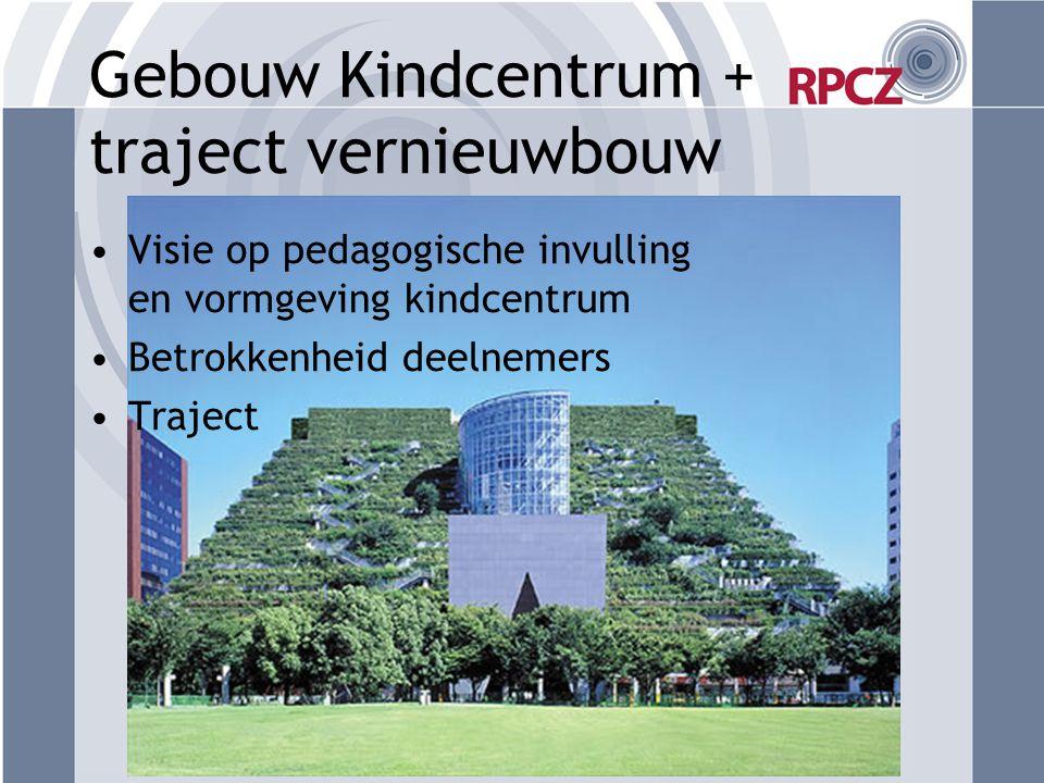Gebouw Kindcentrum + traject vernieuwbouw