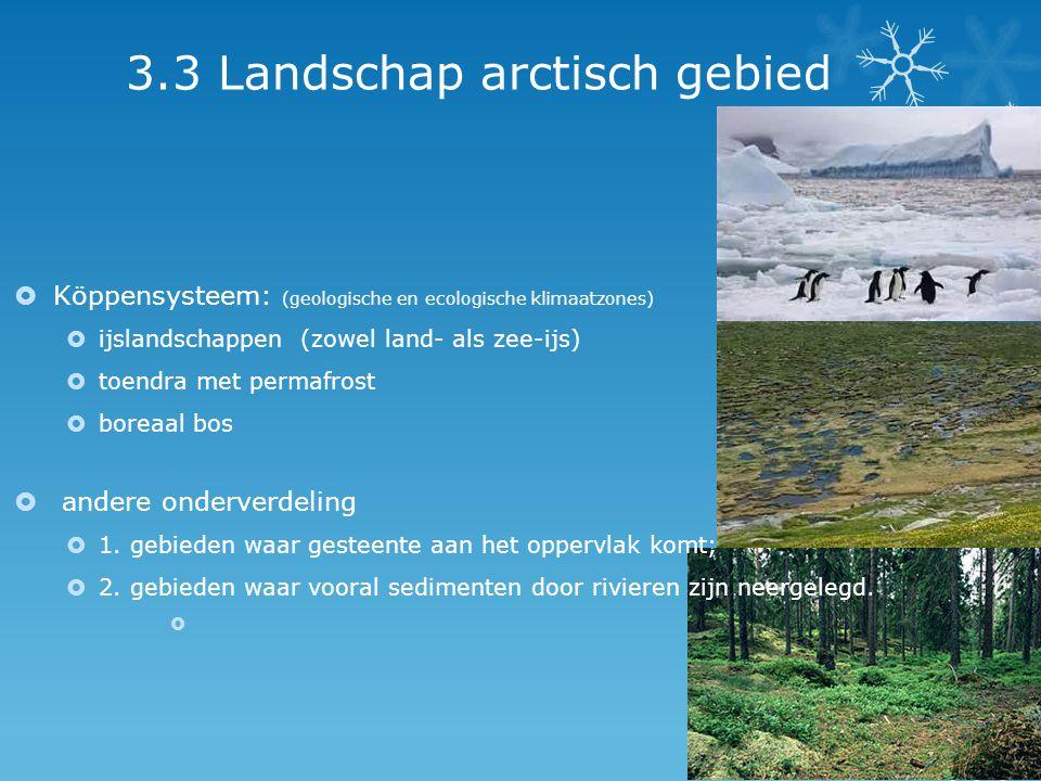 3.3 Landschap arctisch gebied