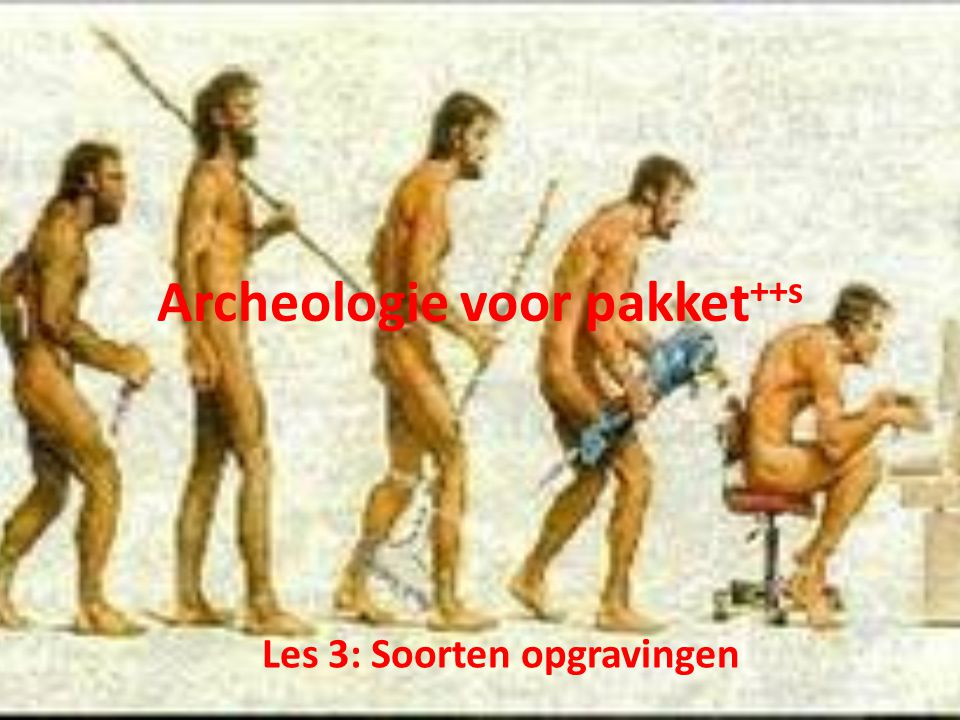 Archeologie voor pakket++s