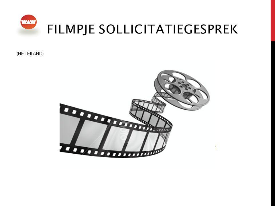 Filmpje sollicitatiegesprek